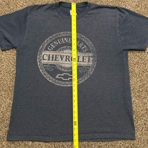 Chevy Shirt Genuine Parts GM Chevrolet Motor Company Logo Mens T-Shirt